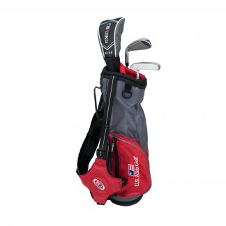 UL39 3-Club Set, Grey/Red Bag