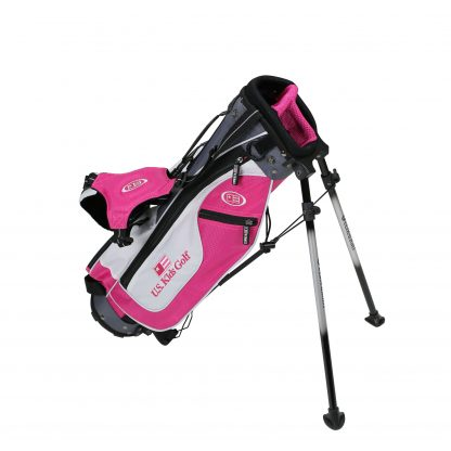 UL45 Stand Bag, Pink/White/Grey Bag