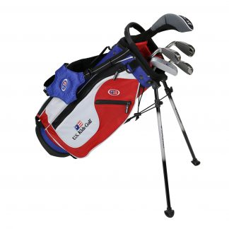 UL48 5-Club Set, Red/White/Blue Bag