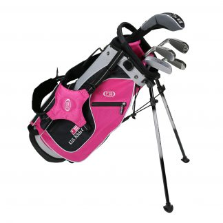 UL48 5-Club Set, Pink/Black/Silver Bag