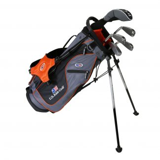 UL51 5-Club Set, Grey/Orange Bag