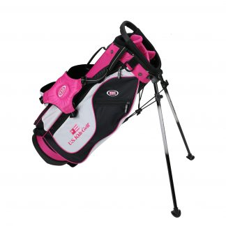 UL51 Stand Bag, Black/White/Pink