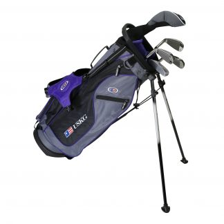 UL54 5-Club Set, Grey/Purple Bag