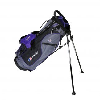 UL54 Stand Bag, Grey/Purple