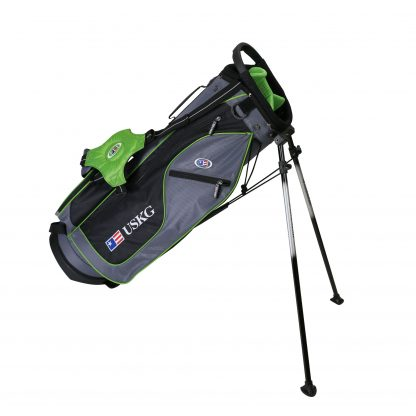UL57 Stand Bag, Grey/Green