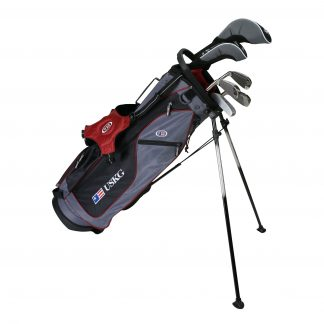UL60 7-Club DV2 Driver Set, Grey/Maroon Bag