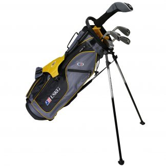 UL63 5-Club Set, Grey/Gold Bag