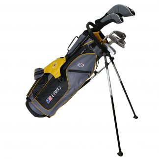 UL63 7-Club DV2 Driver Set, Grey/Gold Bag