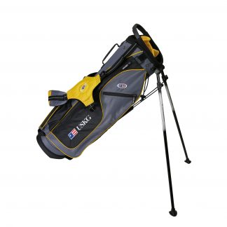 UL63 Stand Bag, Grey/Gold Bag