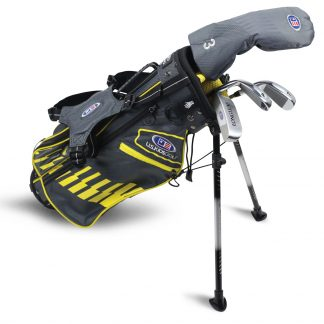 UL42-s  4 Club Stand Set, Grey/Yellow Bag