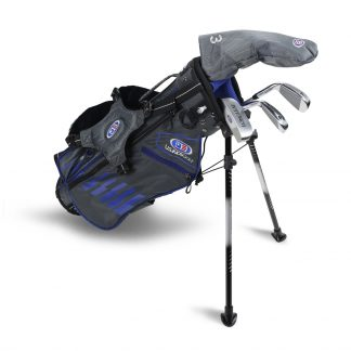 UL45-s  4 Club Stand Set, Grey/Blue Bag