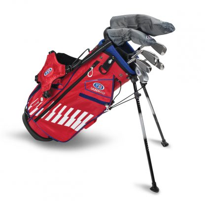 UL48-s  7 Club DV3 Stand Set, Red/White/Blue Bag (RH Only)