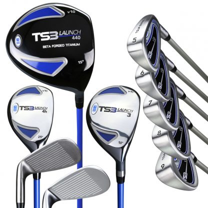 TS3-57  10 Club Only Set, Graphite Shafts