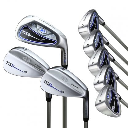 TS3-60  8 Club Iron Set, Graphite Shafts
