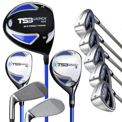 TS3-60  10 Club Only Set, Graphite Shafts