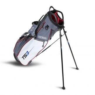TS3-60  Stand Bag, Grey/White/Maroon Bag
