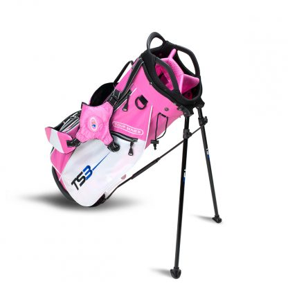 TS3-60  Stand Bag, Pink/White Bag