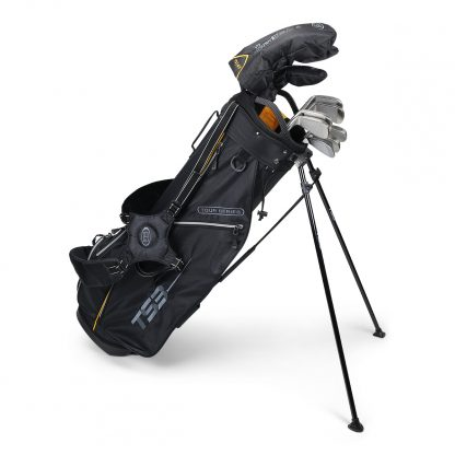 TS3-63  7 Club Set, Combo Shafts, Black/Gold Bag