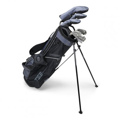TS3-66  10 Club Set, Graphite Shafts, Charcoal/Black Bag
