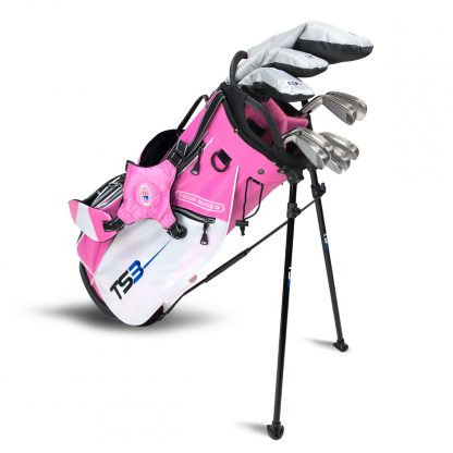 TS3-66  10 Club Set, Graphite Shafts, Pink/White Bag