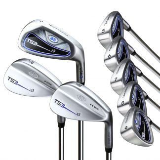 TS3-66  8 Club Iron Set, Steel Shafts