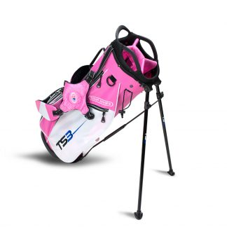TS3-66  Stand Bag, Pink/White Bag