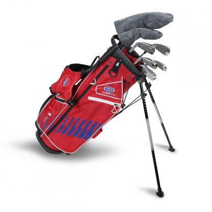 UL54-s  7 Club DV3 Stand Set, Red/Blue/White Bag (RH Only)