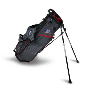 UL60-s  Stand Bag/30.5 Inch, Grey/Maroon Bag
